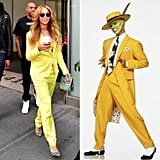 Who Looks Best In a Yellow Suit?