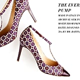 J.Crew Everly Cap Toe T-Strap Pumps ($275)