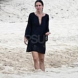 Pictures of Courteney Cox in Bikini on Vacation With Shirtless Josh Hopkins and Coco Arquette