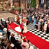 William and Kate Walking Down the Aisle, 2011