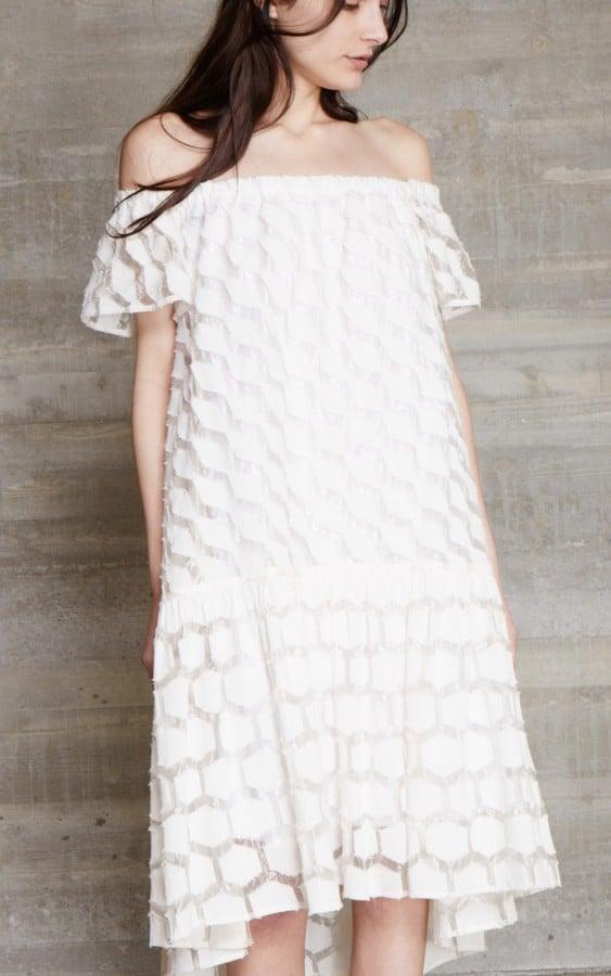 Rachel Comey Off-the-Shoulder Dress