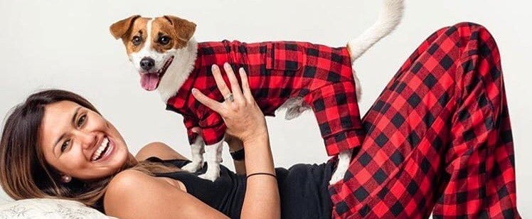 Cute Human and Pet Matching Pajamas