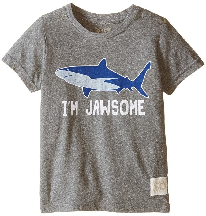 I'm Jawsome Shark Short Sleeve Tri-Blend Tee T-Shirt