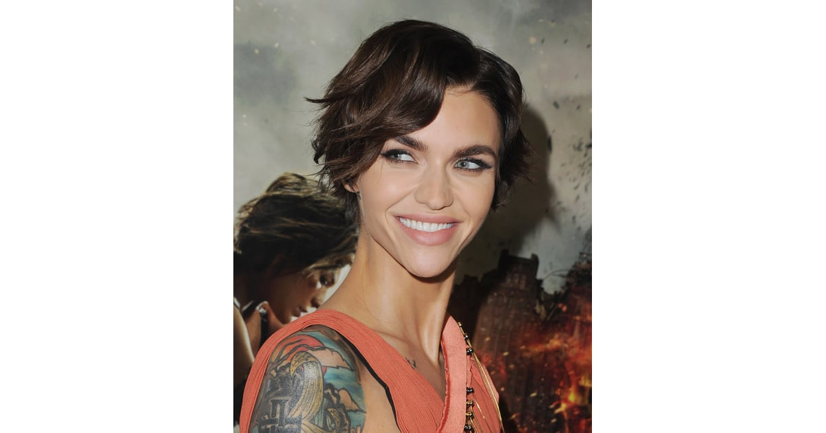 Ruby Rose Blue Hair January 2019 | POPSUGAR Beauty ...