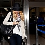 Blake Lively broke from the NYC Gossip Girl set for LA.