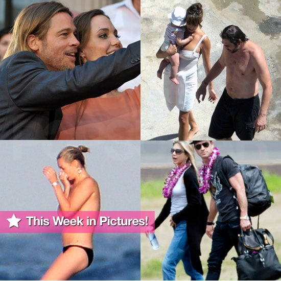 Angelina in Sarajevo, Penelope and Javier Take Leo on a Trip, Jennifer and Justin in Hawaii, and More in This Week in Pictures!