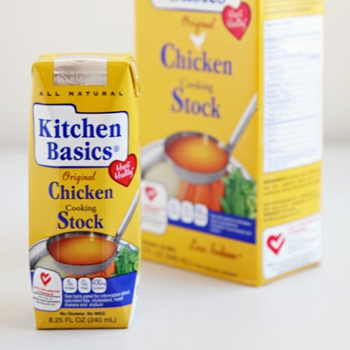 Single-Serving Chicken Stock