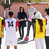 Prince Harry and Meghan Markle With Kids in Morocco Pictures