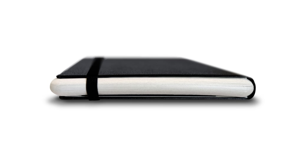 This is the Paper Tablet, a rounded notebook.