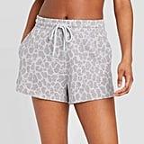 Target Women's Leopard Print Lounge Shorts