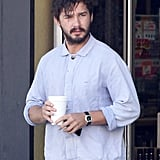 Shia LaBeouf stopped by a convenience store in LA.