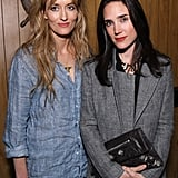 Jennifer Connelly and Natascha McElhone posed together at the Tribeca Film Festival.