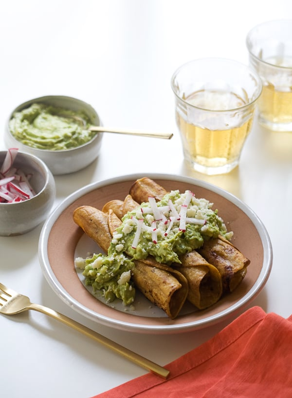 Crispy Chicken Taquitos