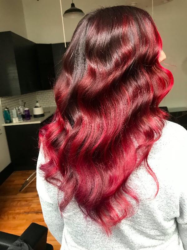 Rainbow Hair Color Ideas For Brunettes Fall Winter 2016 Popsugar Beauty