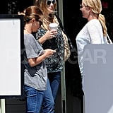 Kate Hudson took her coffee to go after lunch.