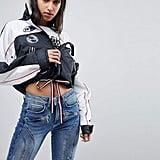 Tommy Hilfiger Gigi Hadid Patch Logo Windbreaker Jacket