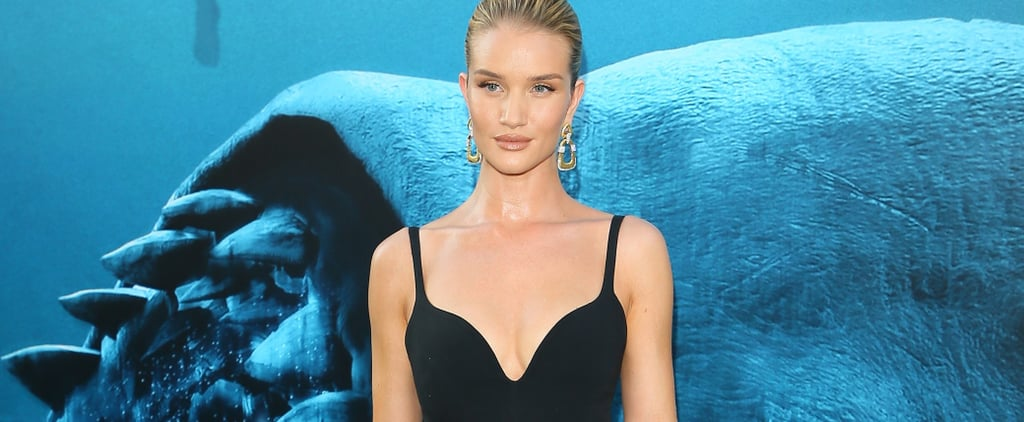 Rosie Huntington-Whiteley's Black Stella McCartney Dress