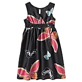 Girls Surplice Babydoll Dress