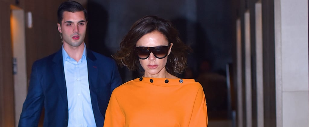 If You Want to Know More About Victoria Beckham's Fall '17 Collection, Look at Her Outfit