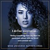 How Miss Universe Contestants Define Success