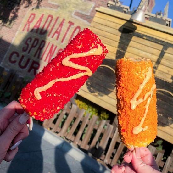 Cheese Puff Elote Corn at Disney California Adventure 2019