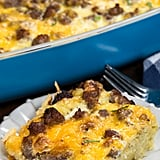 Hashbrown Casserole With Eggs, Sausage, and Cheese
