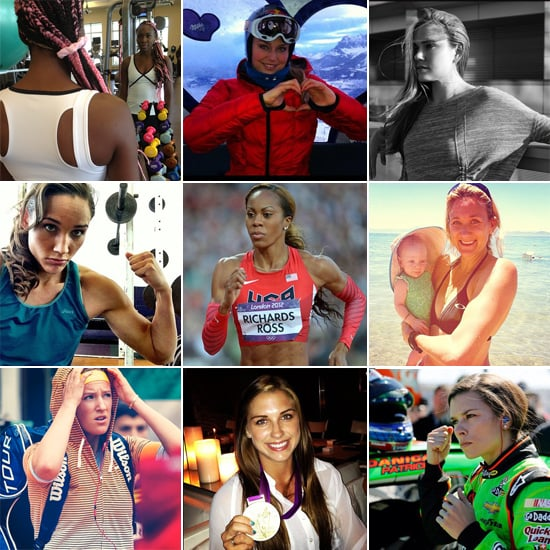 The Athletes You Should Follow on Instagram — Now!