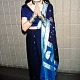 A peaceful Madonna at the VH1 Fashion Awards in 1998.