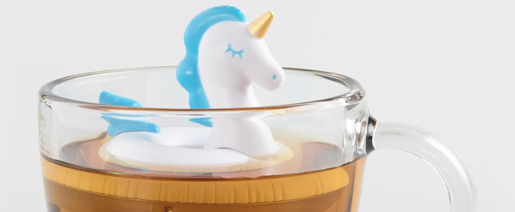 World Market Unicorn Pool Float Tea Infuser