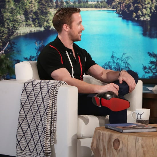 Ryan Gosling on The Ellen DeGeneres Show December 2016