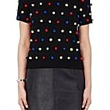 Lisa Perry Pom-Pom Sweater-Black ($395)