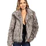 MUMU Faux Fur Coat