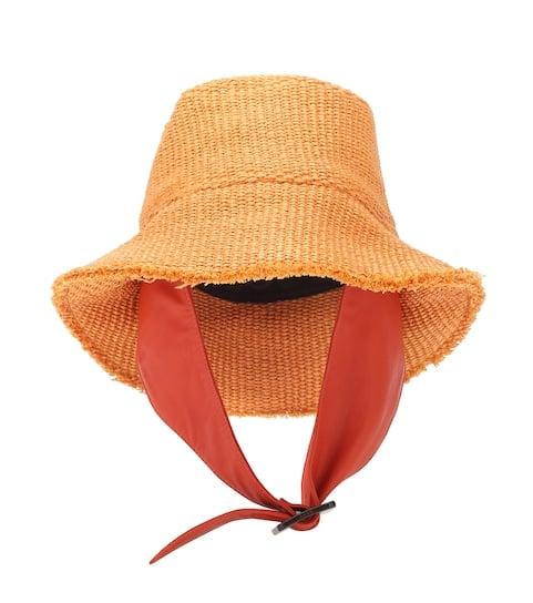BOYY Bucket Raffia Hat