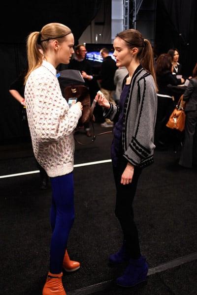 2010 NY Fashion Week: Models Off Duty!
