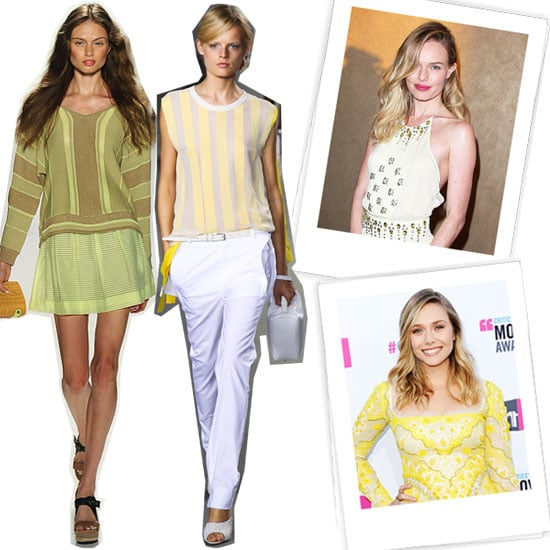 Cute Yellow Clothes For Spring 2012