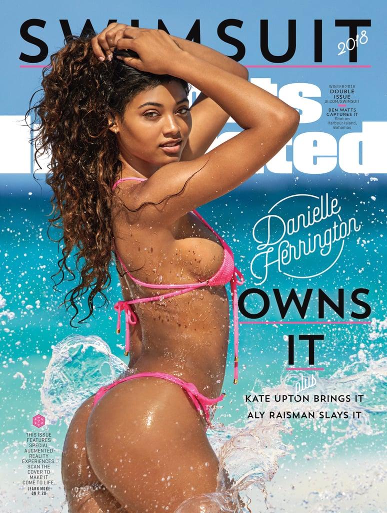 Danielle Herrington Pink Bikini on Sports Illustrated Cover