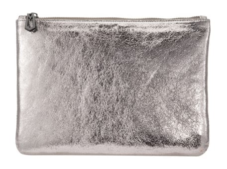 This Marc Jacobs for Target gunmetal clutch ($70) is definitely a must have for the holiday party circuit and beyond.
