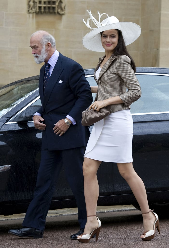 Sophie Winkleman at Prince Philip's 90th Birthday Celebration in June 2011