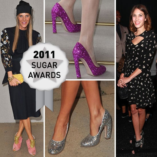 Miu Miu's Glittler Heel Wins the 2011 Sugar Award for Shoe of the Year: Buy It On Sale at Net-a-Porter Now