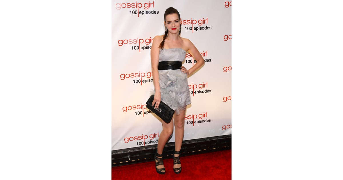 Roxane Mesquida stepped out for Gossip Girl in a flirty ...