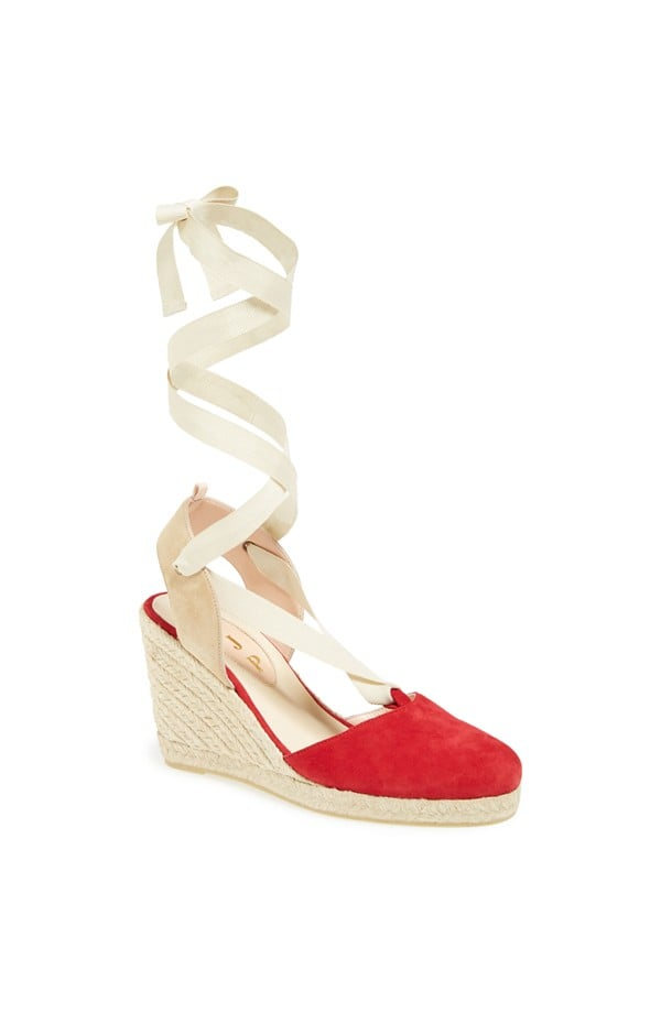 Inez in Red and Ivory