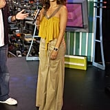 At MTV's Total Request Live in 2002