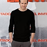 Ryan Reynolds dressed casual for today's photocall.