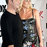 Britney Spears posed for a photo with Simon Cowell.