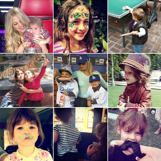 Celebrity Moms' Instagram Pictures Week of April 14, 2013