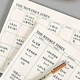 Plan Memo Pad