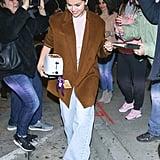 Selena Gomez Wears a Light Pink Turtleneck Twice in One Week