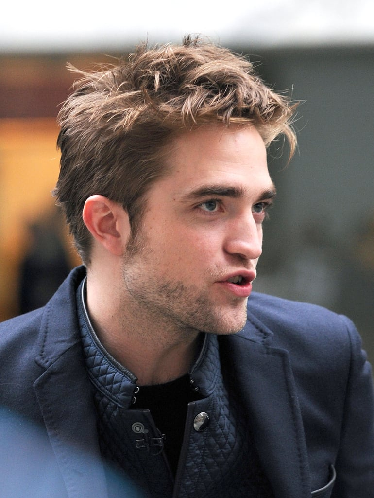Robert Pattinson was in NYC to promote Breaking Dawn — Part 2.