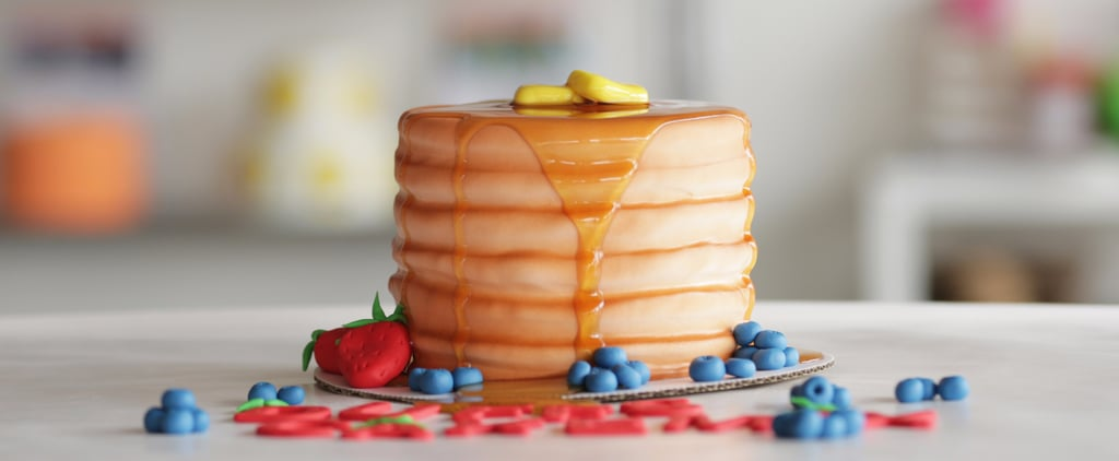 Look Closely! This Pancake Stack Isn't What You Think It Is