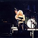 Courtney Love et Edward Norton
